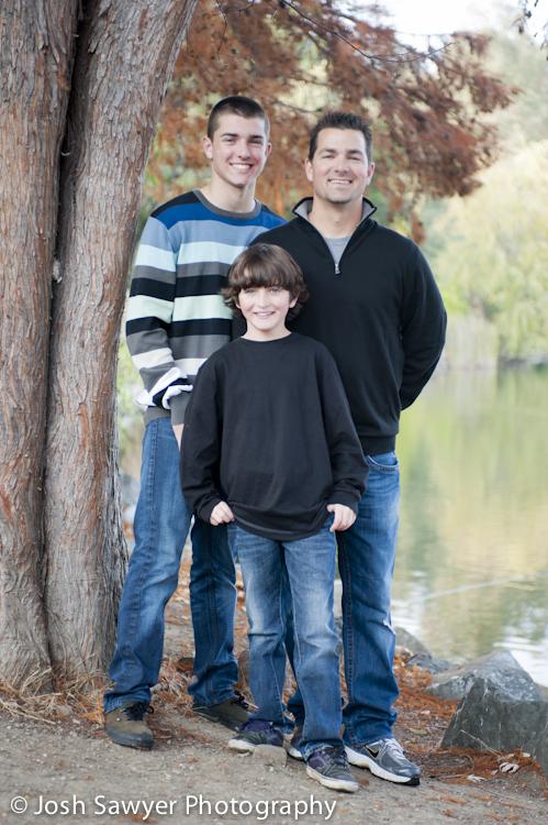 Josh Sawyer Photography, Family Portraits, Vasona Park, Los Gatos